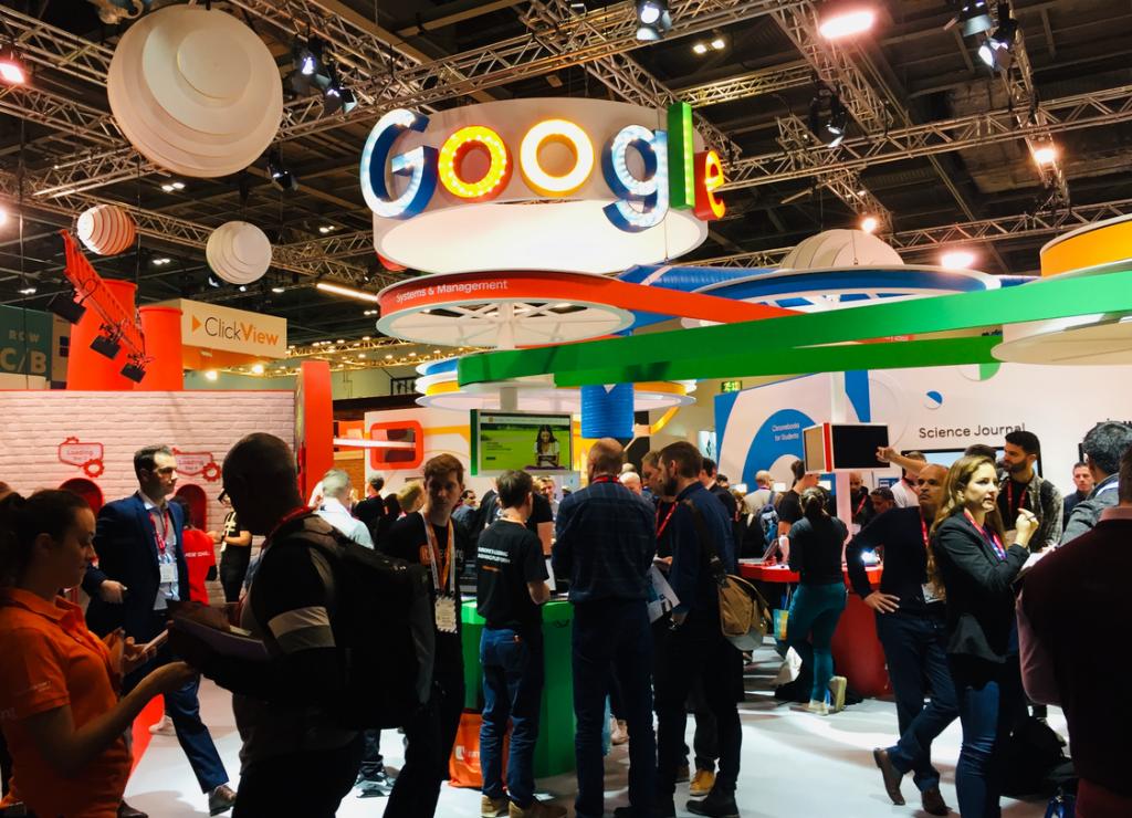 Google stand at BETT