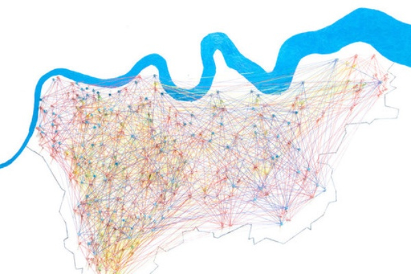 London Map by Jodie Valerie