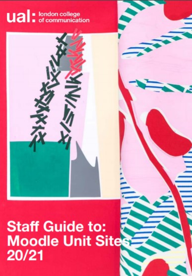Cover image  of staff guide to Unit Sites